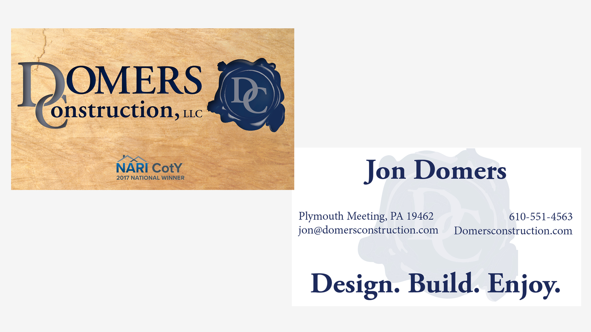 Traditional Marketing Business Card