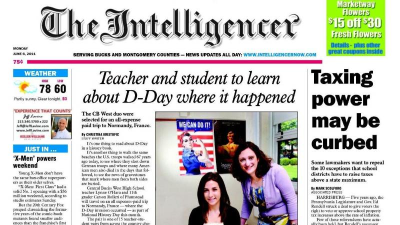 Intelligencer Article Features an MMS Family Member